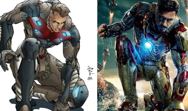 Marvel being sued for stealing Iron Man 3 costume design 15