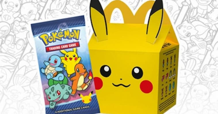 Some McDonald's Happy Meals now come with Pokémon cards 15