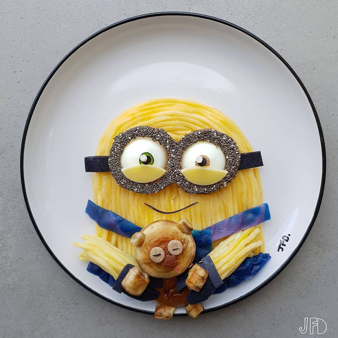 Mom turns her kid's lunches into edible pop culture icons 14