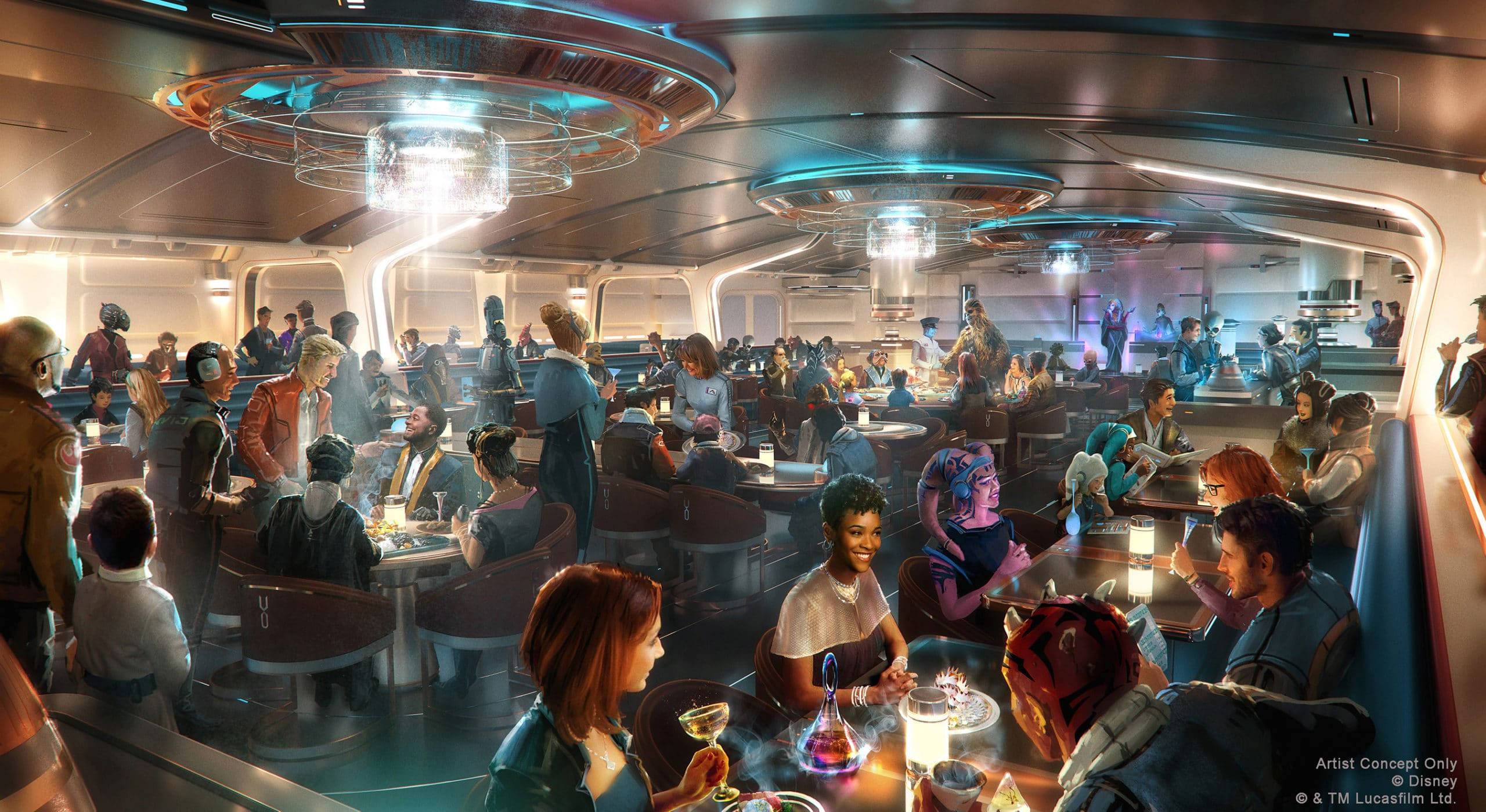 Star Wars: Galactic Starcruiser is opening at Disney World in 2022 18