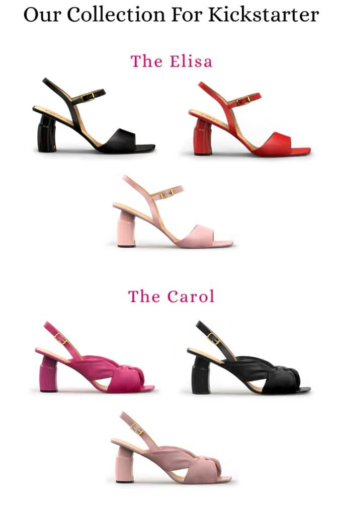 Trilly Shoes adjust to three heel heights with the click of a button 17