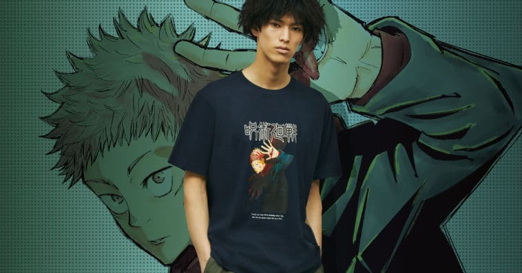 UNIQLO is dropping a Jujutsu Kaisen T-shirt collection in June 15
