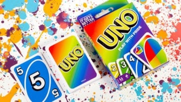 Mattel celebrates Pride Month with a rainbow-themed UNO card deck 1