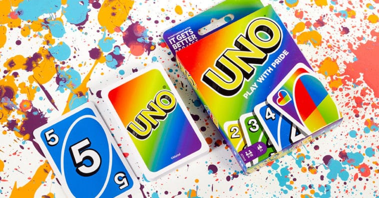 Mattel celebrates Pride Month with a rainbow-themed UNO card deck 15
