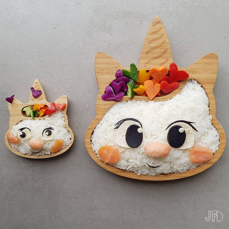 Mom turns her kid's lunches into edible pop culture icons 42