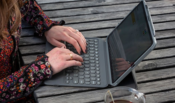 Turn your iPad into a laptop with ZAGG Pro Keys 18