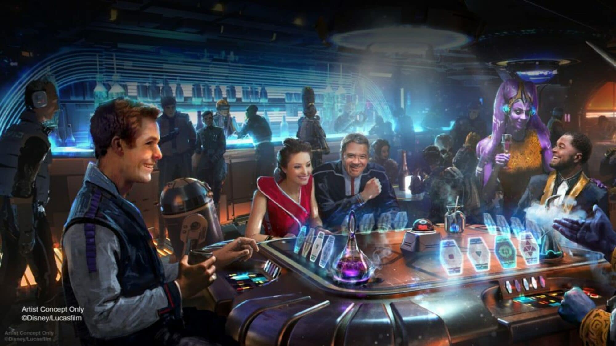Star Wars: Galactic Starcruiser is opening at Disney World in 2022 19