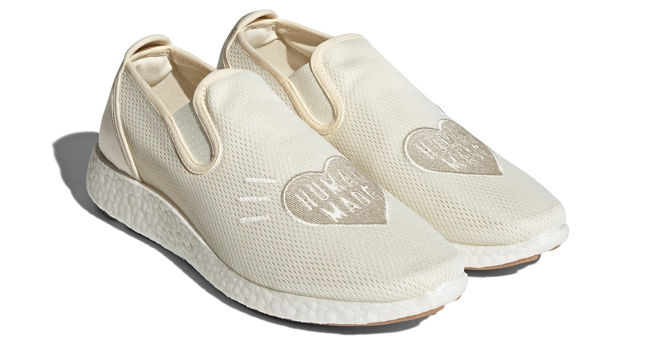 Adidas and Human Made team up for a Kung Fu-inspired slip-on shoe 18