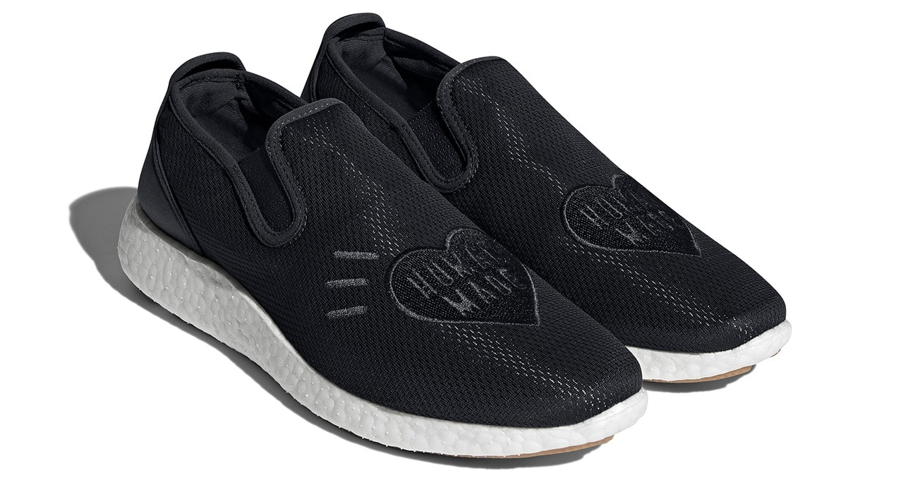 Adidas and Human Made team up for a Kung Fu-inspired slip-on shoe 20