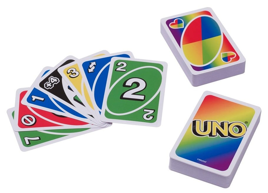 Mattel celebrates Pride Month with a rainbow-themed UNO card deck 17