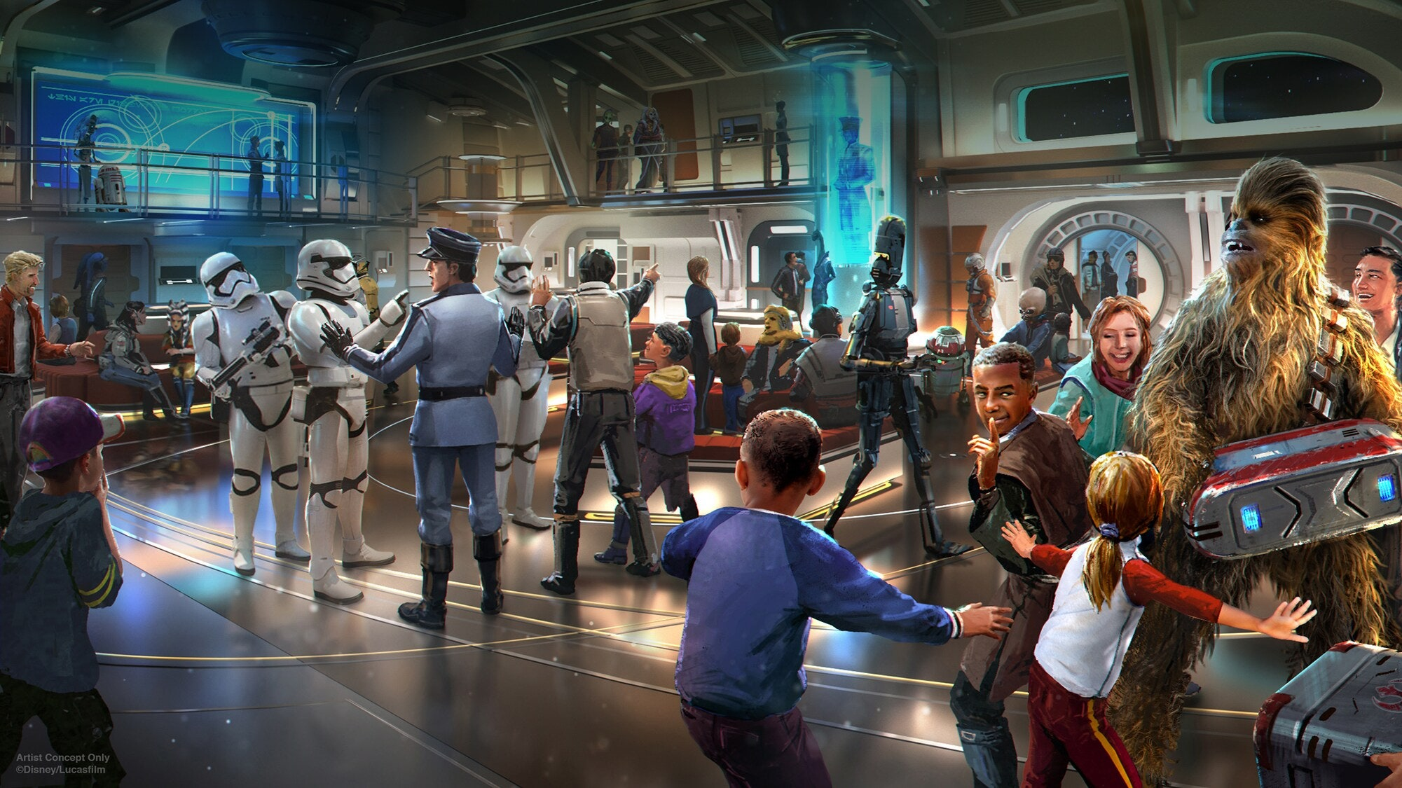 Star Wars: Galactic Starcruiser is opening at Disney World in 2022 16