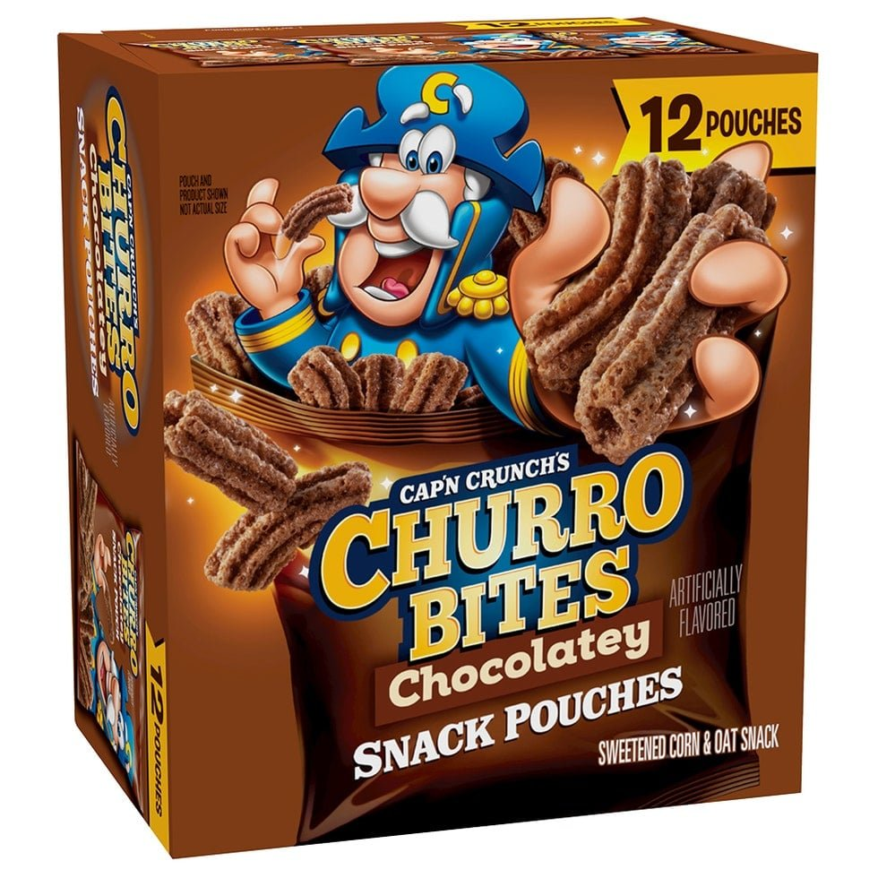 Cap'n Crunch launches Chocolatey Churro Bites and Chocolate Caramel Crunch cereal 16
