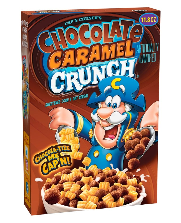 Cap'n Crunch launches Chocolatey Churro Bites and Chocolate Caramel Crunch cereal 17