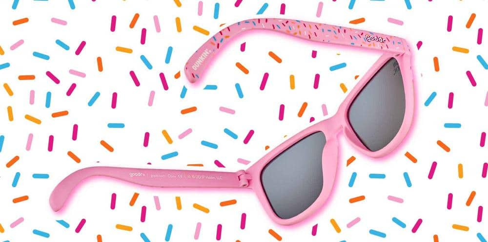 These Dunkin' Donuts x Goodr sunnies are inspired by strawberry frosted donut 16