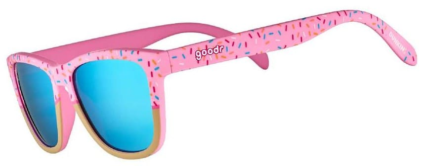 These Dunkin' Donuts x Goodr sunnies are inspired by strawberry frosted donut 14