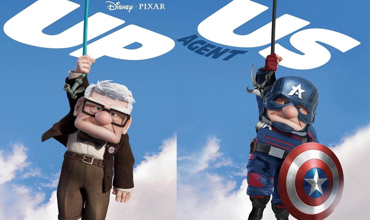 Disney characters as superheroes