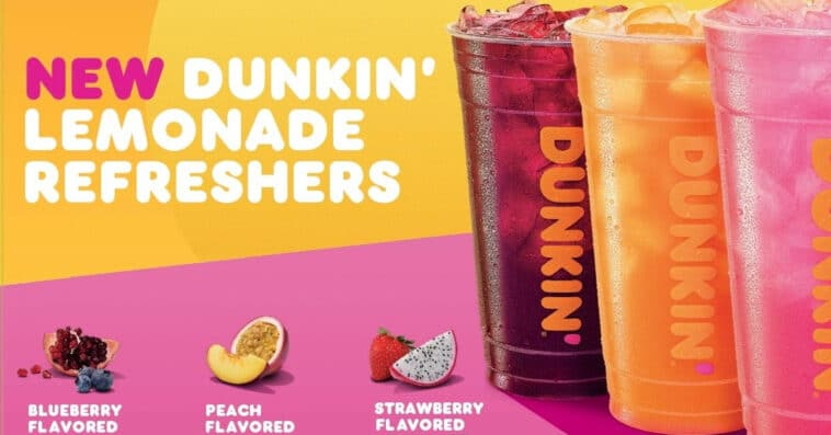 Dunkin' Donuts launches Lemonade Refreshers in time for the summer 16