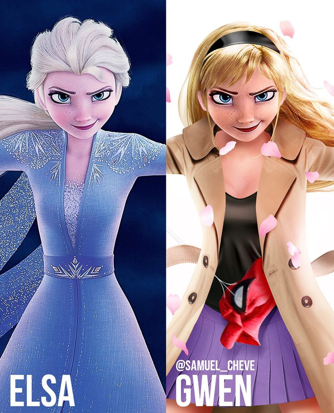 Disney characters reimagined as Marvel and DC icons 45