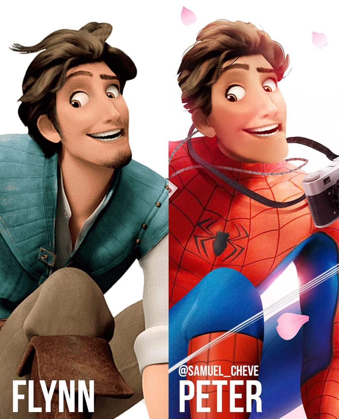 Disney characters reimagined as Marvel and DC icons 41
