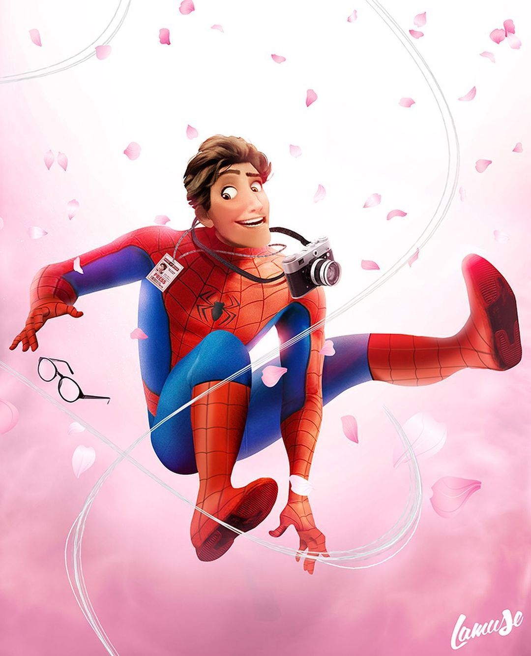 Disney characters reimagined as Marvel and DC icons 42
