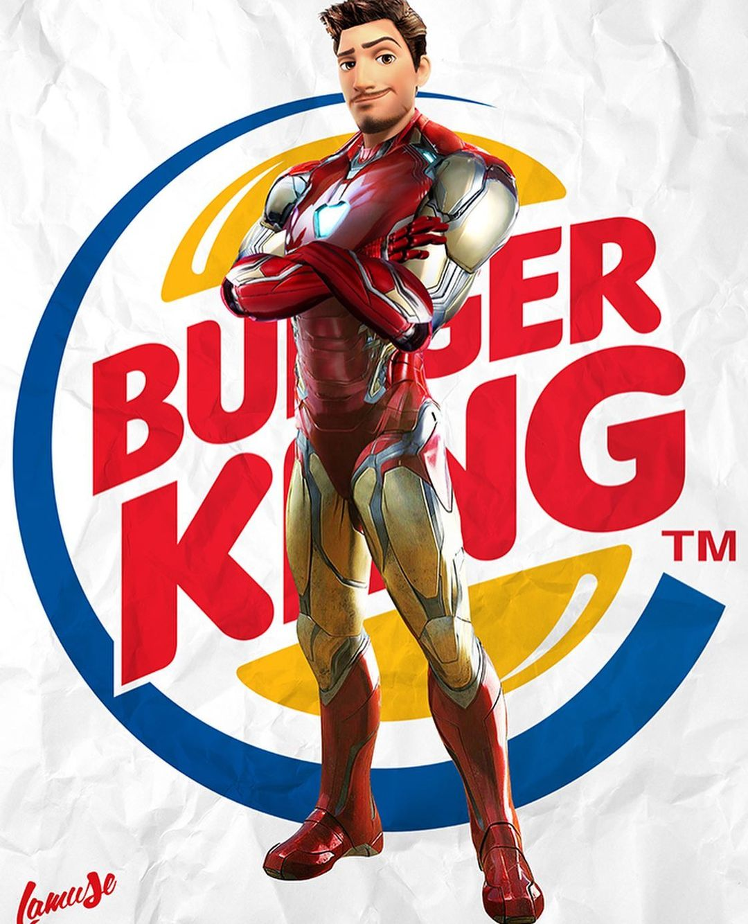 Disney characters reimagined as Marvel and DC icons 56