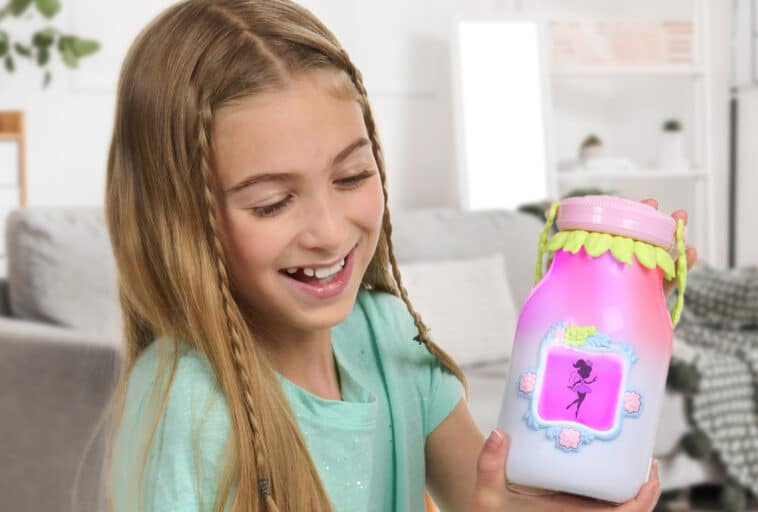 The Got2Glow Fairy Finder enables kids to magically collect and nurture virtual fairies