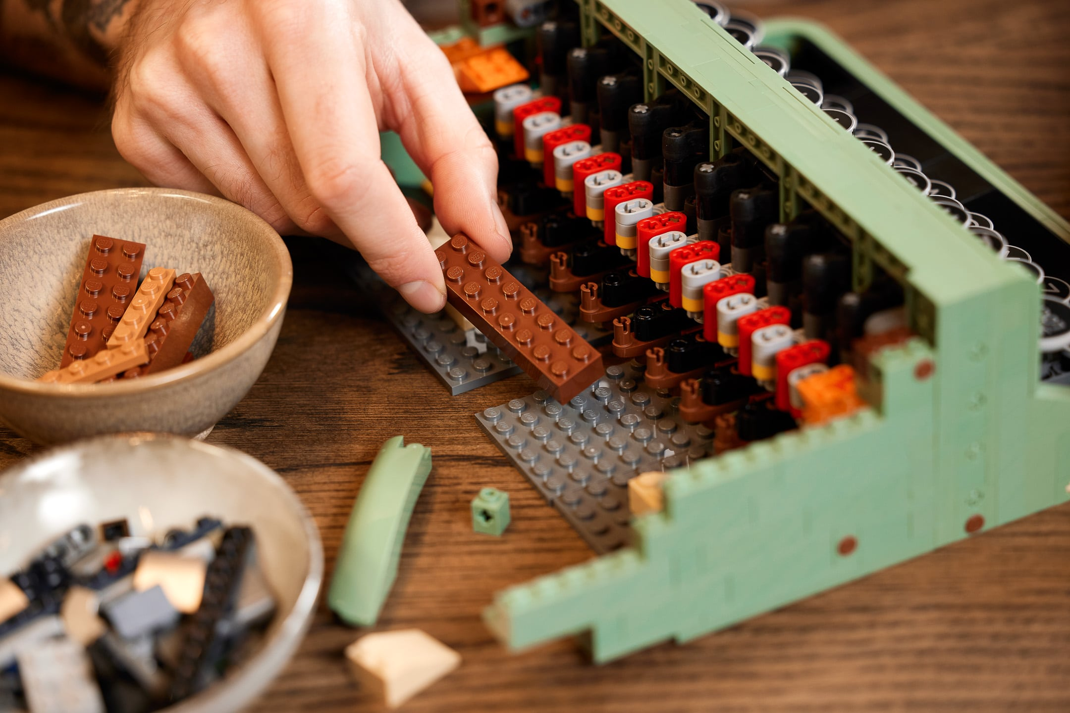 LEGO unveils a typewriter set with moving keys and carriage 19