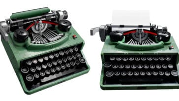 LEGO unveils a typewriter set with moving keys and carriage 22