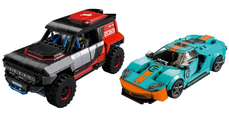 LEGO's new Speed Champions sets include Ford, Toyota, and Chevrolet 16
