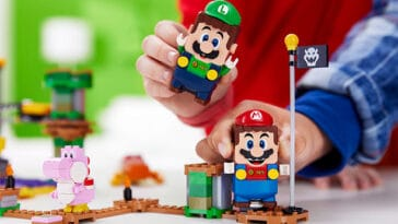 Super Mario LEGO adds Luigi figure and a two-player mode 1