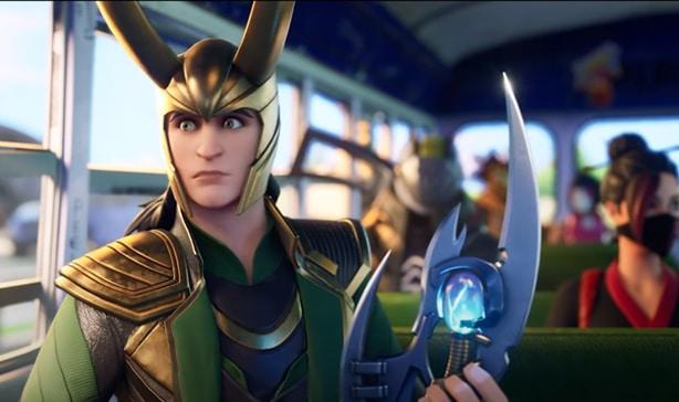 Fortnite gets exclusive Loki skin 14