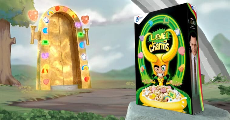Lucky Charms is releasing Loki Charms cereal in honor of the Disney+ series 16