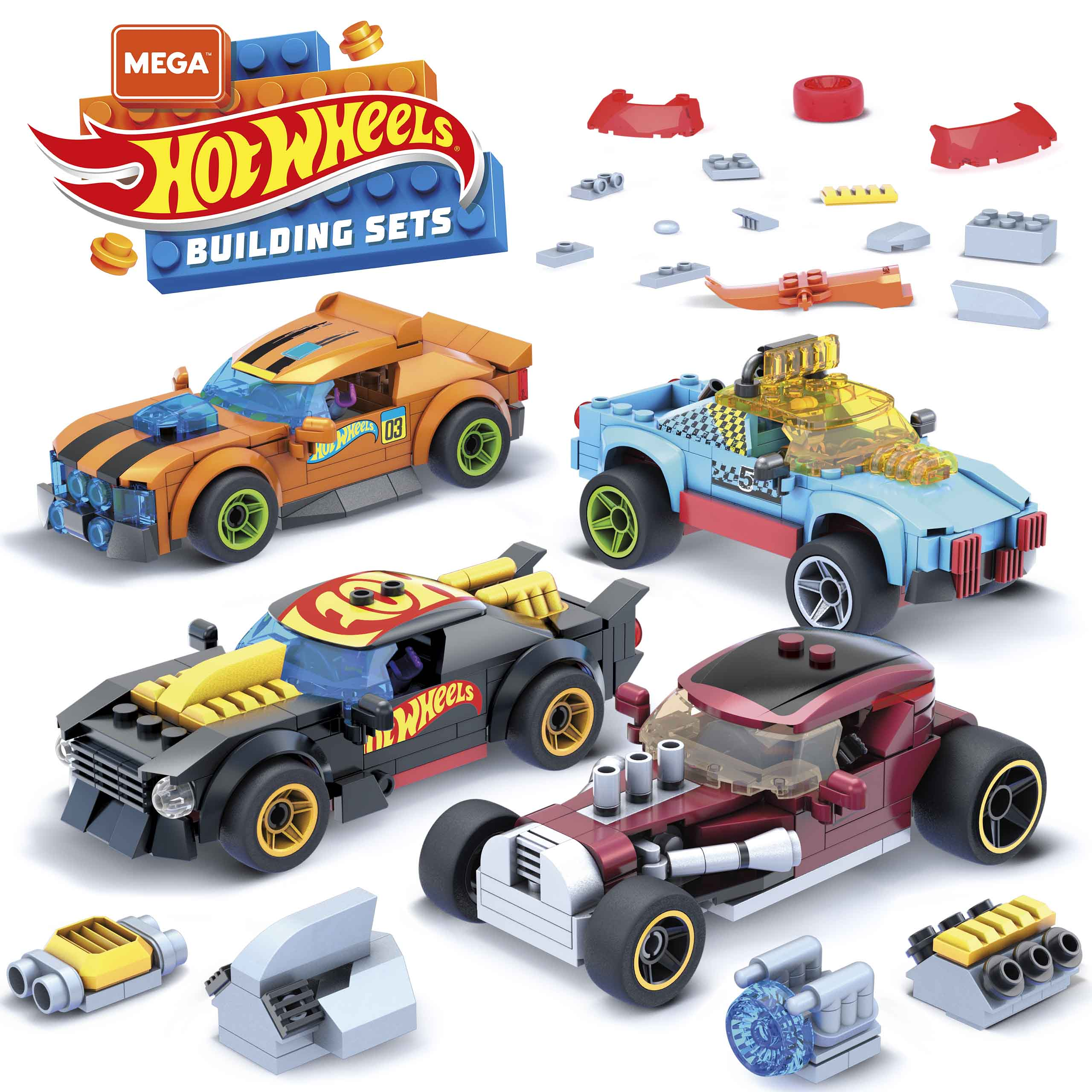 MEGA Construx launches a line of buildable Hot Wheels vehicles 21