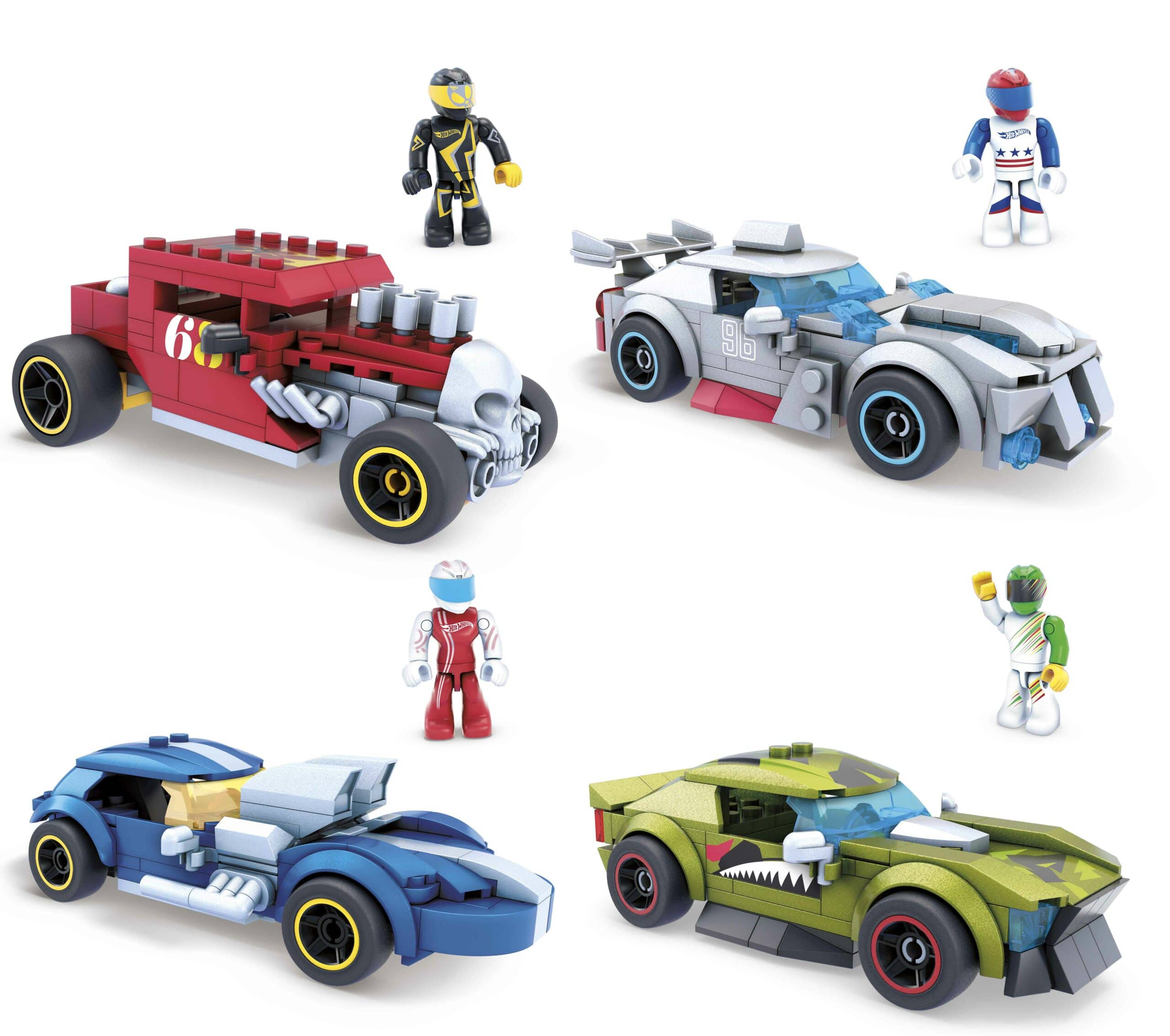 MEGA Construx launches a line of buildable Hot Wheels vehicles 19