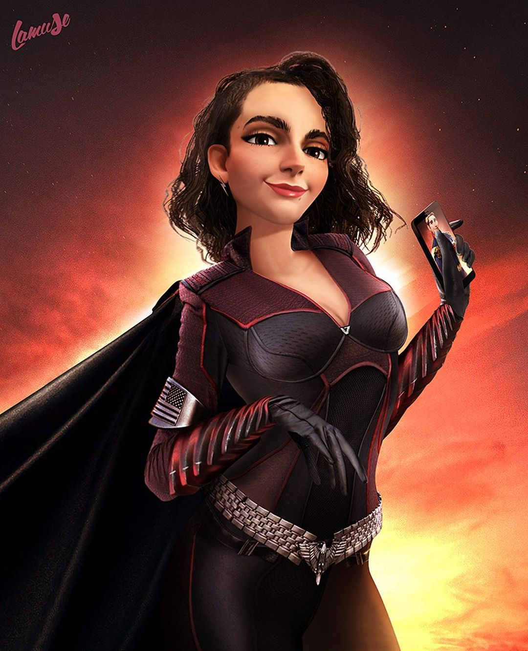 Disney characters reimagined as Marvel and DC icons 30