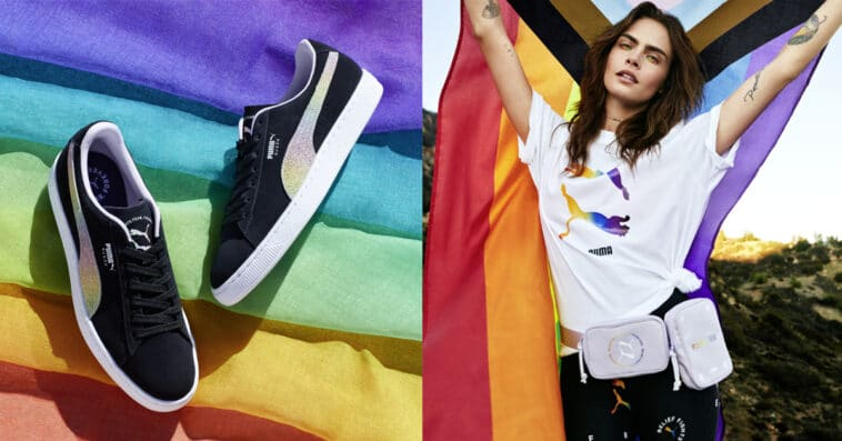 Puma's Pride Collection with Cara Delevingne is selling out fast ...