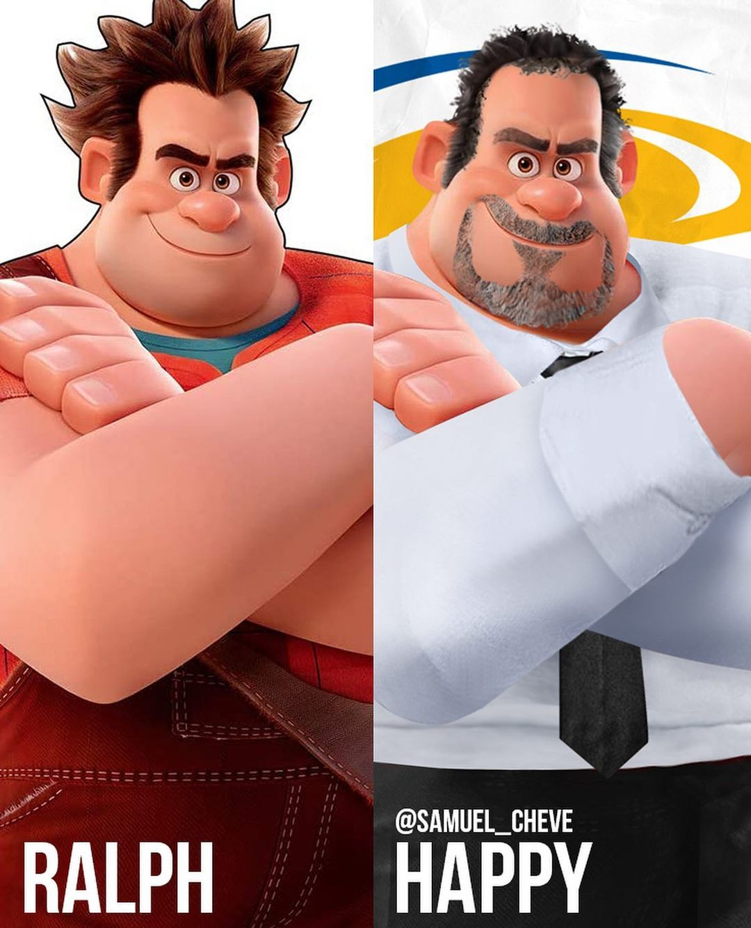 Disney characters reimagined as Marvel and DC icons 57