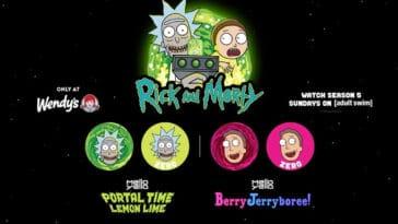 Wendy's celebrates Rick and Morty season 5 with custom Coca-Cola mixes 19