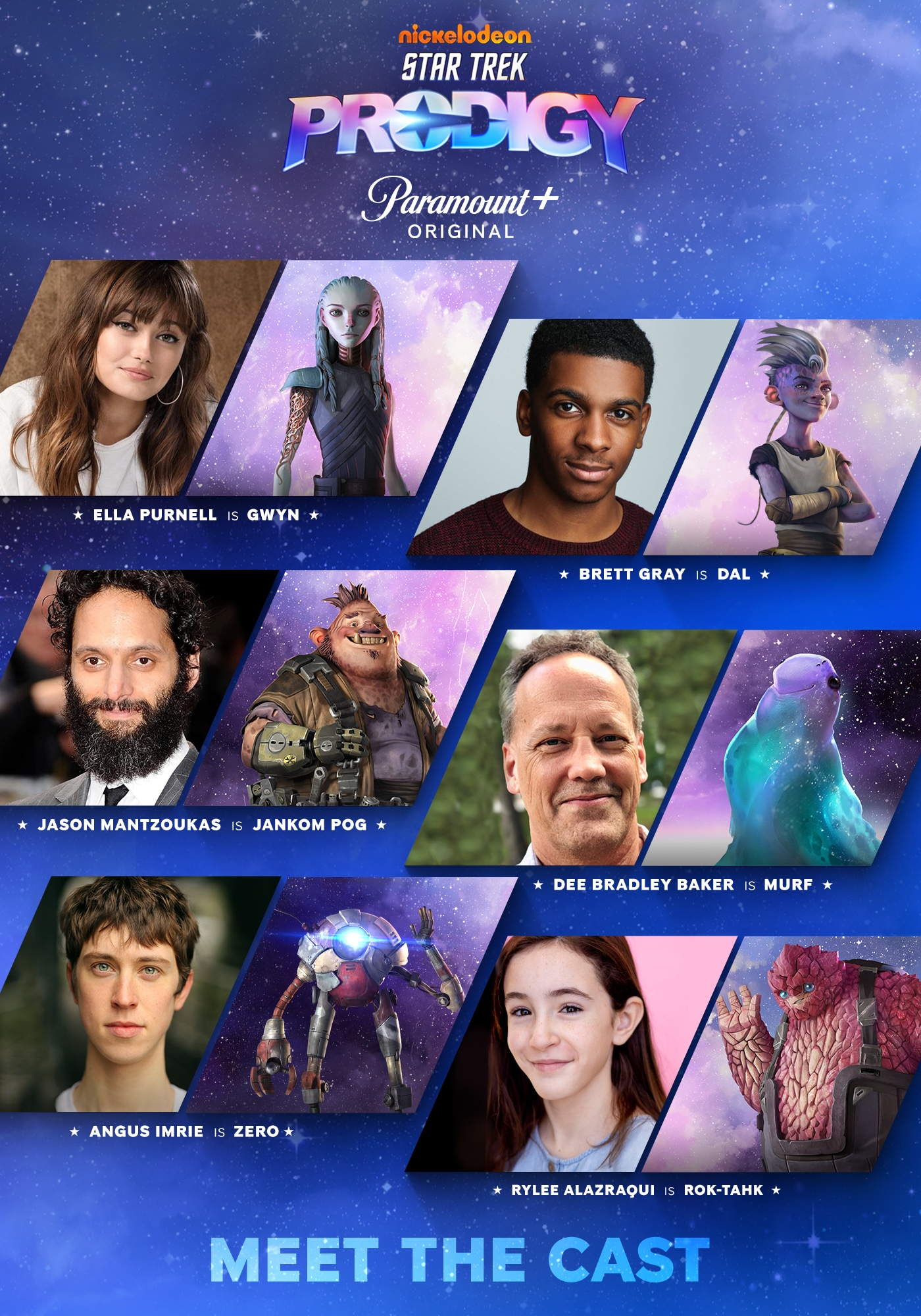 Meet the Star Trek: Prodigy cast and their characters 14