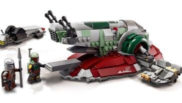 LEGO unveils Star Wars vehicle sets including Boba Fett's Starship 18