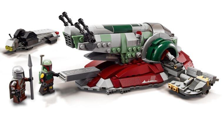 LEGO unveils Star Wars vehicle sets including Boba Fett's Starship 16