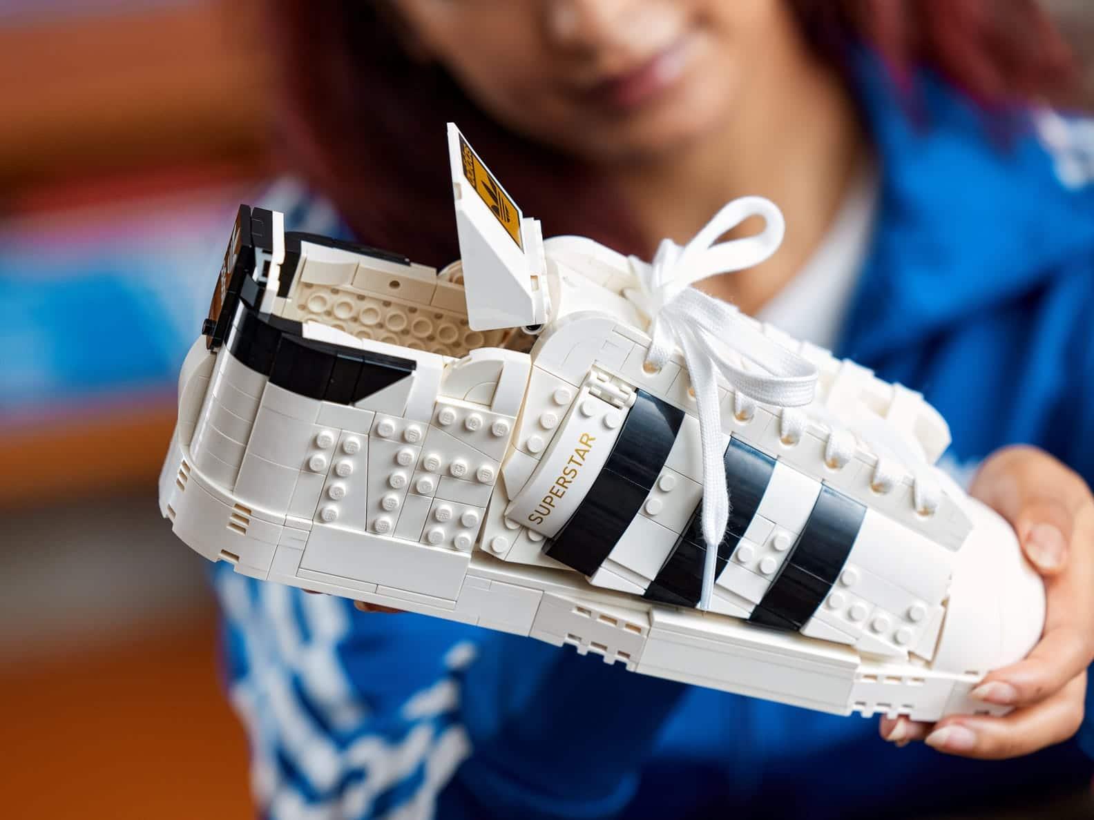LEGO releases a buildable model of Adidas Originals Superstar 17
