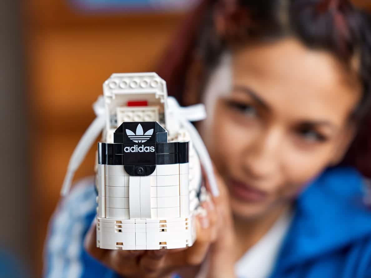 LEGO releases a buildable model of Adidas Originals Superstar 20