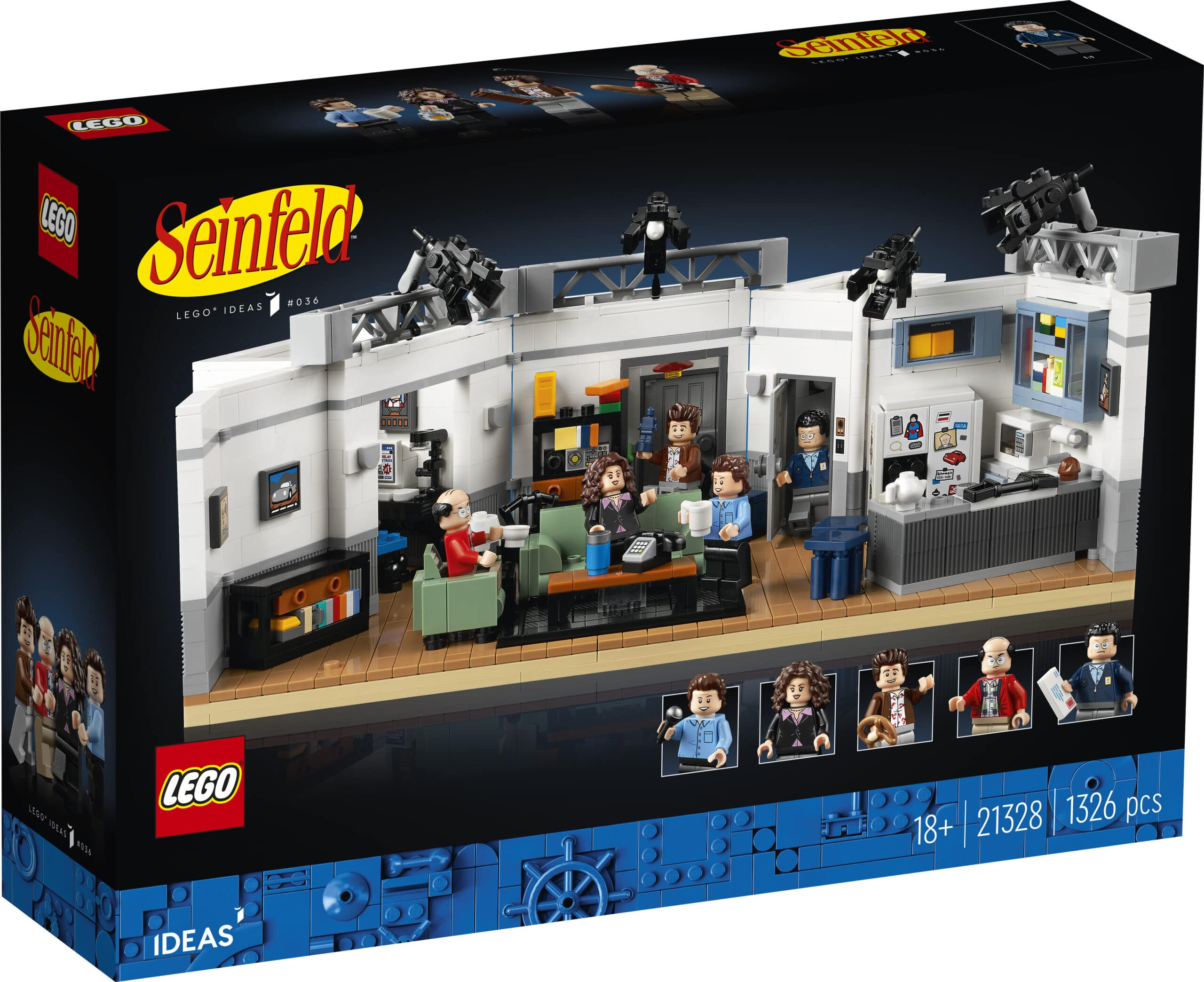 The LEGO Ideas Seinfeld set will transport fans back to '90s New York City 21