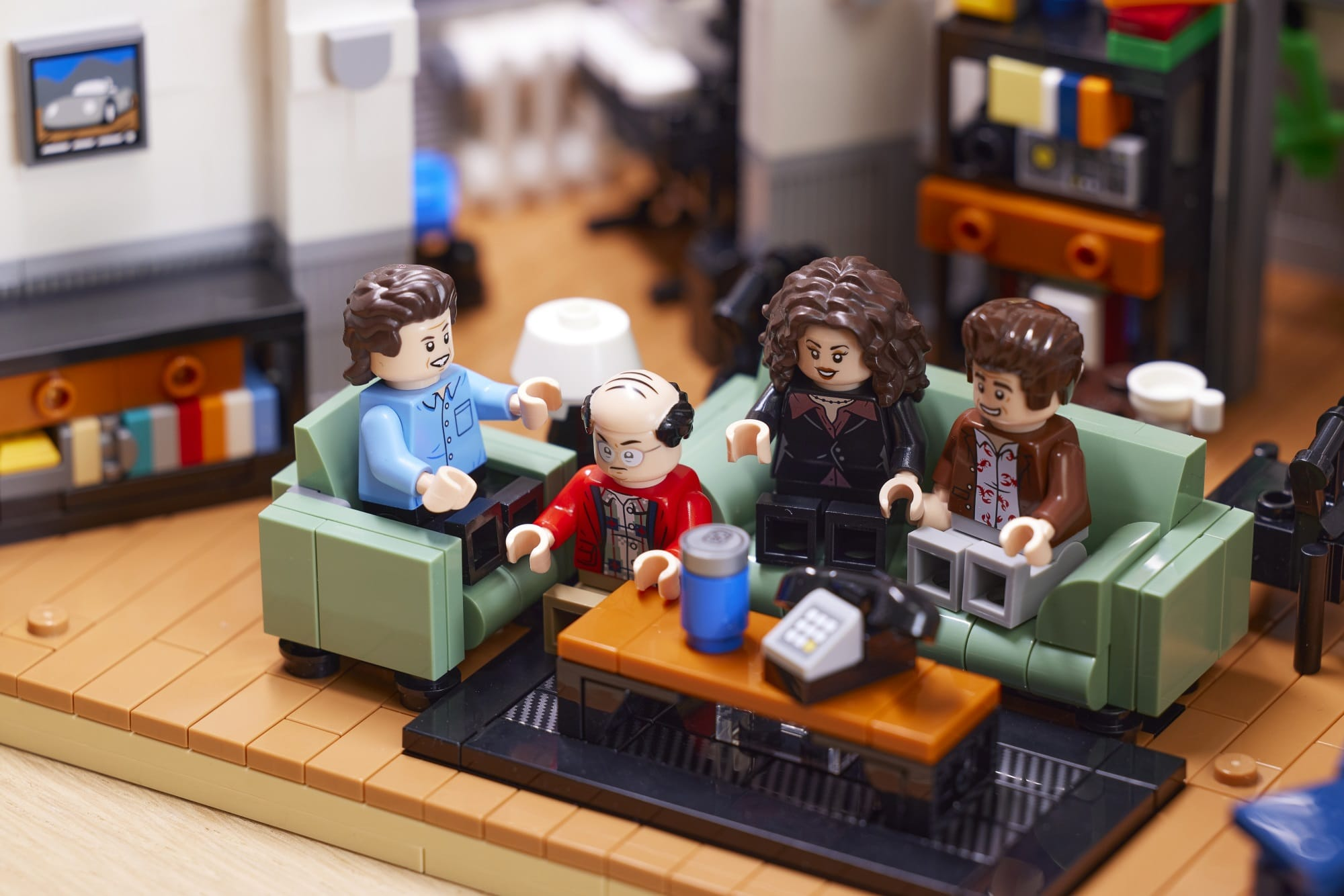 The LEGO Ideas Seinfeld set will transport fans back to '90s New York City 17