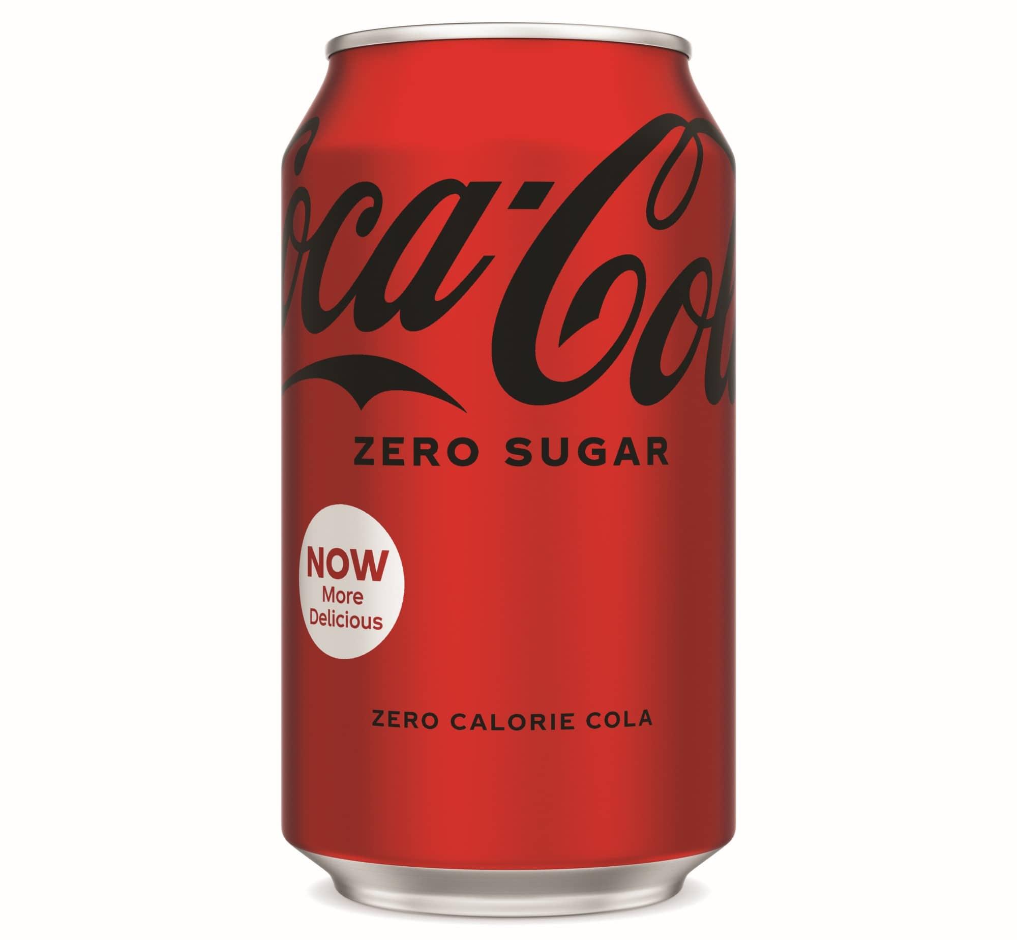 Coca-Cola Zero Sugar debuts a new taste and look 17