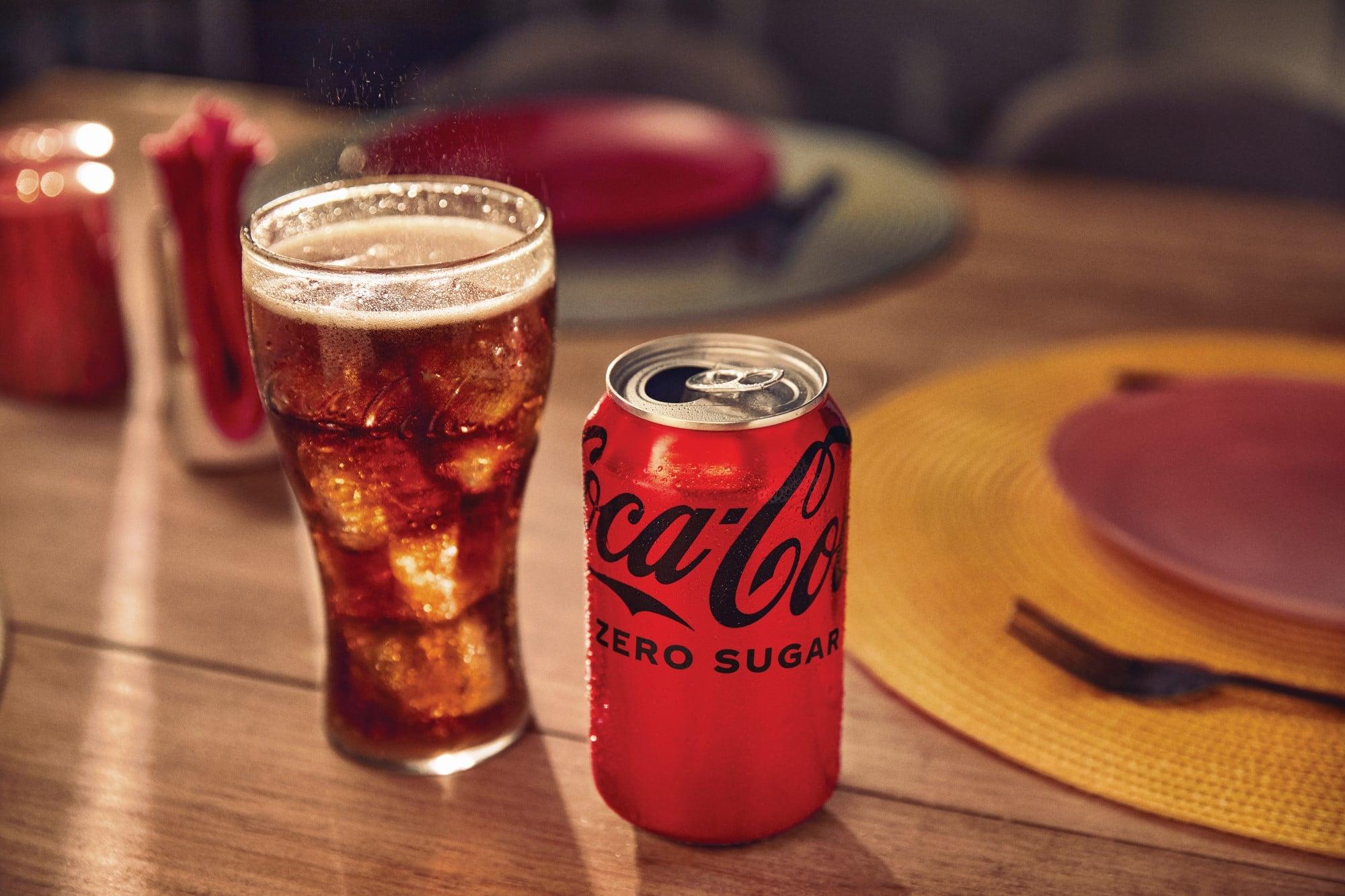 Coca-Cola Zero Sugar debuts a new taste and look 18