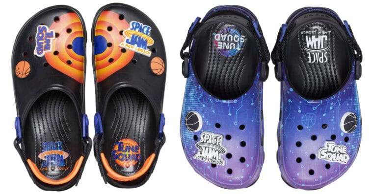 Crocs is releasing limited pairs of Space Jam: A New Legacy shoes 16
