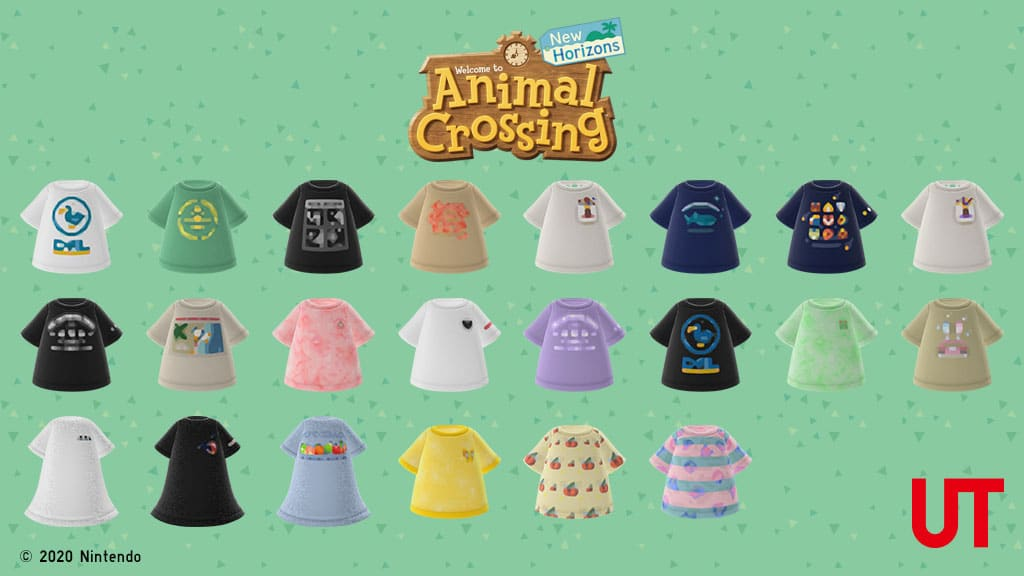 UNIQLO's Animal Crossing: New Horizons UT collection is now available 22