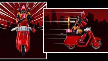 Hot Wheels Deadpool Birthday Scooter is now available at Mattel Creations 17